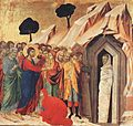 Duccio di Buoninsegna - Resurrection of Lazarus - WGA06781.jpg