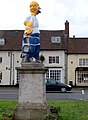Dunchurch statue fancy dress 2009 - 10 - geograph.org.uk - 1640716.jpg