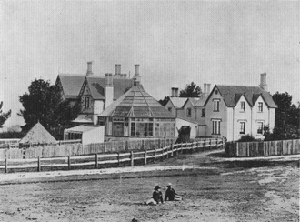 Duntroon, Australian Capital Territory - Duntroon house in 1870