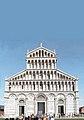 Duomo di Pisa Front Facade 2009 sky.JPG