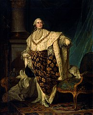 Louis XVI in Coronation Robes