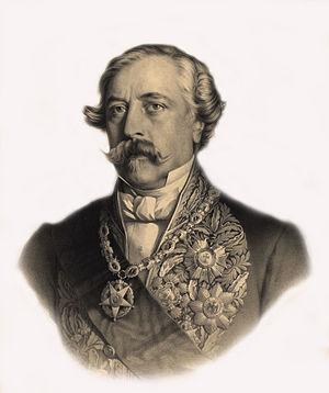 Nuno José Severo de Mendoça Rolim de Moura Barreto, 1st Duke of Loulé - Image: Duque de Loulé