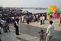 Durga Idol Immersion Gathering - Baja Kadamtala Ghat - Kolkata 2012-10-24 1672.JPG