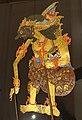 Duryudana, wayang kulit puppet, Java, collected in 1894, wood, rawhide, metal, pigment - Pacific collection - Peabody Museum, Harvard University - DSC06109.jpg