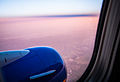 Dusk on a flight to Southern California (8758461324).jpg