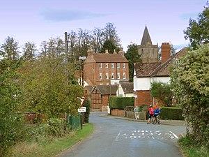 Dymock poets - Dymock village centre, 2011