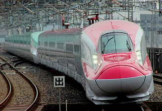 Komachi (train) - An E6 series shinkansen, March 2013
