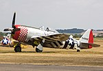 EGSU - Republic P-47D Thunderbolt - G-THUN 549192 Nellie (44044573581).jpg