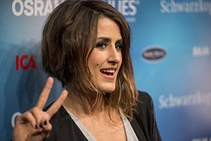 Spain in the Eurovision Song Contest 2016 - Barei during a press meet and greet