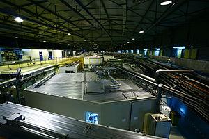 European Synchrotron Radiation Facility - Top view of the ring