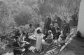 ETH-BIB-Gruppe in einem Garten in Fès-Nordafrikaflug 1932-LBS MH02-13-0356.tif