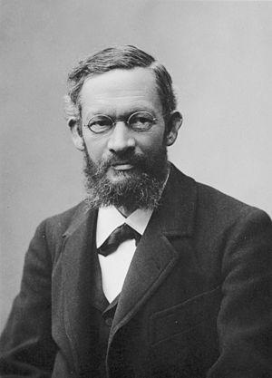 Alfred Kleiner - Dr Alfred Kleiner (1849-1916). Source: Image Archive ETH-Bibliothek Zurich.