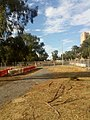 Early light rail works, Northbourne Avenue Lyneham and Dickson.jpg