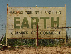 Earth, Texas.
