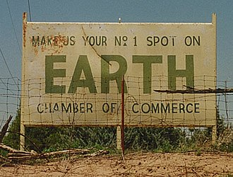 Earth, Texas - Image: Earth Sign