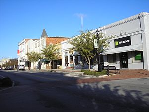 National Register of Historic Places listings in Bulloch County, Georgia - Image: East Main St. Commercial Historic Dist
