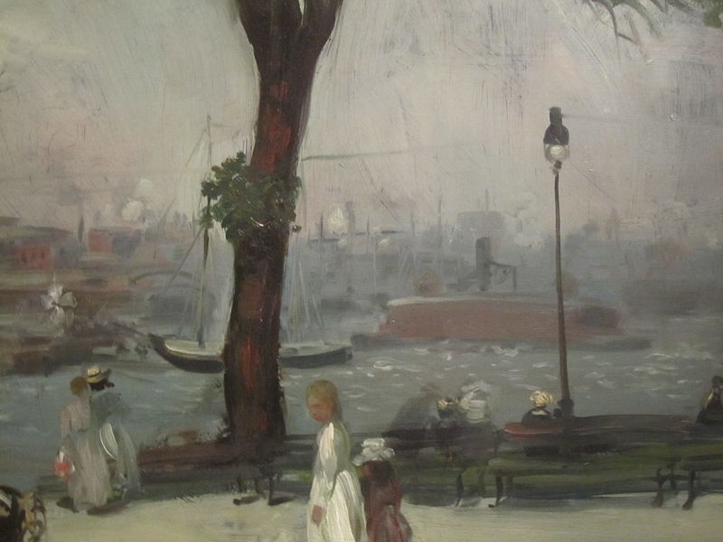 File:East River Park painting IMG 3773.JPG