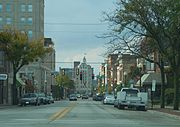 East State Street in downtown Rockford