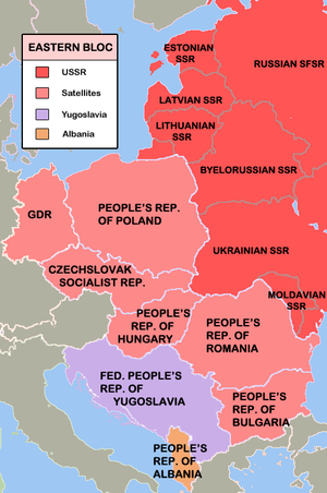 The Eastern Bloc - after the annexations and i...