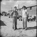 Eden, Idaho. Phillip Schafer, assistant project director (left), and George Townsend assistant in t . . . - NARA - 538272.tif