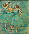 Edgar Degas - Two Dancers, c. 1905 - Google Art Project.jpg