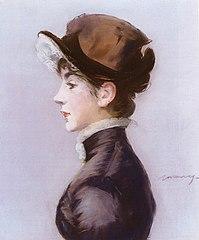 Portrait of Mademoiselle Suzette Lemaire