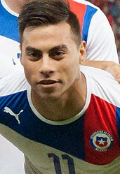 Eduardo Vargas Footballteam of Chile - Spain vs. Chile, 10th September 2013 (cropped).jpg