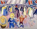 Edvard Munch - 17th of May in a Small, Norwegian Town (1919).jpg