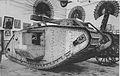 Eerstewereldoorlog tank in het oorlogsmuseum.jpg