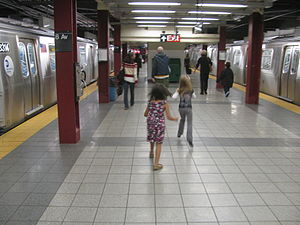 14th Street/Eighth Avenue (New York City Subway) - Image: Eighth Avenue Canarsie vc