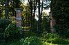 foto van Den Eikenhorst: hekpijlers