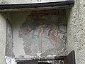 Eisenerz - Wehrkirche hl Oswald - alte Malerei über dem Mauereingang.jpg