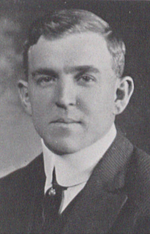 Elgie Tobin - Tobin pictured in La Vie 1915, Penn State yearbook