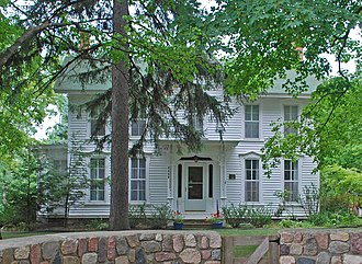 National Register of Historic Places listings in Oakland County, Michigan - Image: Eli Albertson House Oakland County MI