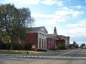 Arnot Art Museum - Image: Elmira Civic Historic District