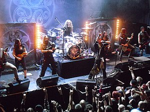 Eluveitie - Eluveitie performing live in Oslo in October 2012