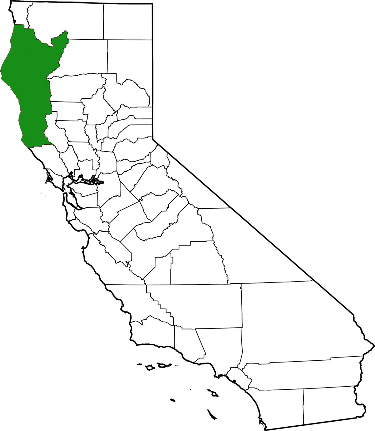 Emerald Triangle - Wikipedia on map of forest fires, map of ambergris, map of bay village, map of log country cove,