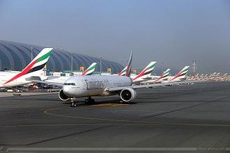 Dubai Airports Company - Emirates operations at Dubai International