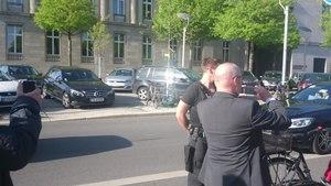 File:Emmanuel Macron Motorcade in Berlin.webm