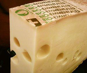 Emmental cheese - Image: Emmentaler