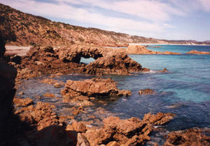 Emu Bay Shale - North Coast of Kangaroo Island, Emu Bay © David Simpson