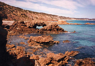 Emu Bay Shale - North Coast of Kangaroo Island, Emu Bay © David Simpson