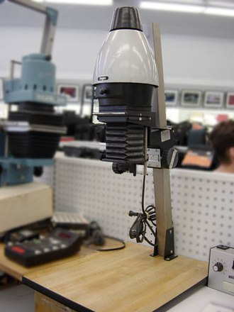 Enlarger - Photographic enlarger.