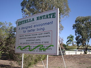 Estella, New South Wales Suburb of Wagga Wagga, New South Wales, Australia