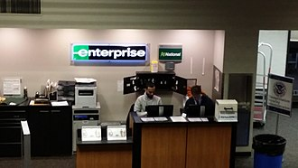Trenton–Mercer Airport - Enterprise Rent-A-Car Counter