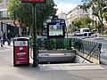 Entrée Station Métro Gare Austerlitz Paris 1.jpg