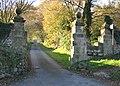 Entrance to Bryn Yorkin Manor - geograph.org.uk - 282973.jpg
