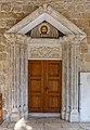 Entrance to Church of Virgin Mary of Chrysopolitissa, Larnaca, Cyprus 03.jpg