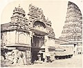Entrance to the Temple of Minakshi in the Great Pagoda MET DP132604.jpg