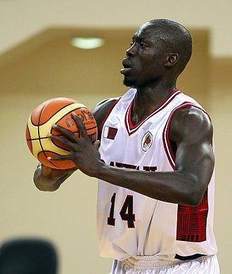 Qatar national basketball team - Erfan Saeed has been a member of Team Qatar for more than a decade.
